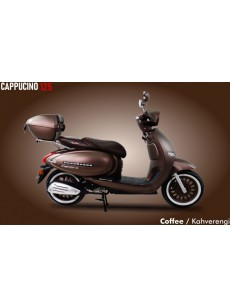 ARORA CAPPUCINO 125 CC BENZİNLİ OTOMATİK VİTESLİ MOTOSİKLET